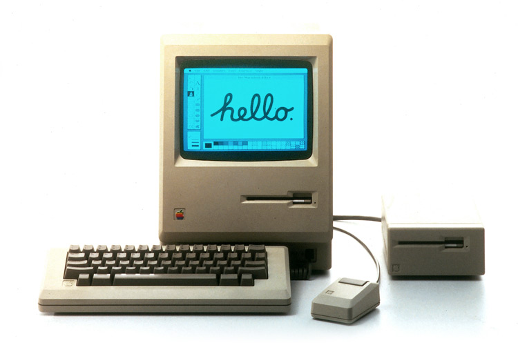 The Macintosh Design Is History Apple Macintosh Old Computers Computer