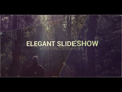 elegant slideshow — after effects project | videohive template, Powerpoint templates