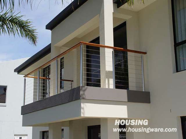 Railing/Wire Rope Railing Balustrading With Stainless Steel Wire Ropes  $2800~$7000
