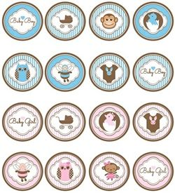 Baby Boy Cupcake Toppers   Google Search