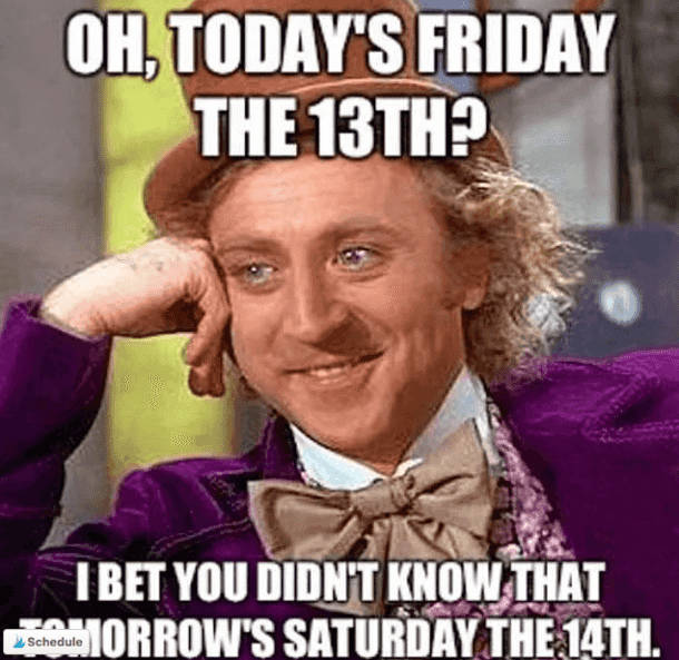 50 Funny Friday The 13th Memes To Ease Your Superstitious