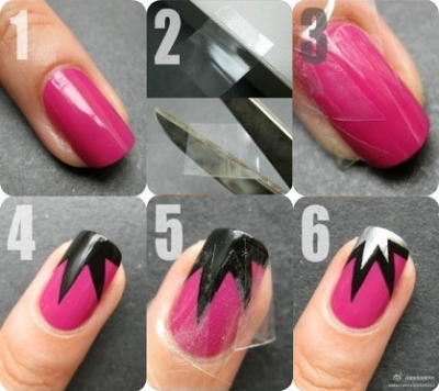 Diy Nail Art Nail Design Pinterest Scotch Tape Amazing Nails