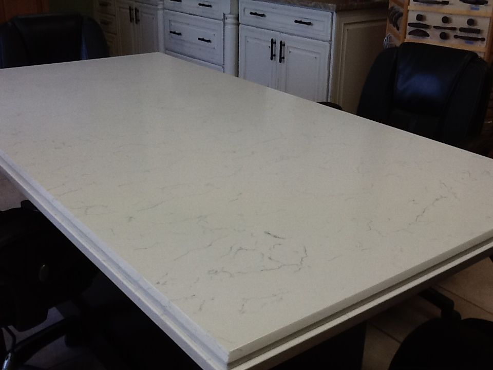 White Engineered Quartz Table Tops With Images Engineered Quartz Quartz Stone Quartz Countertops