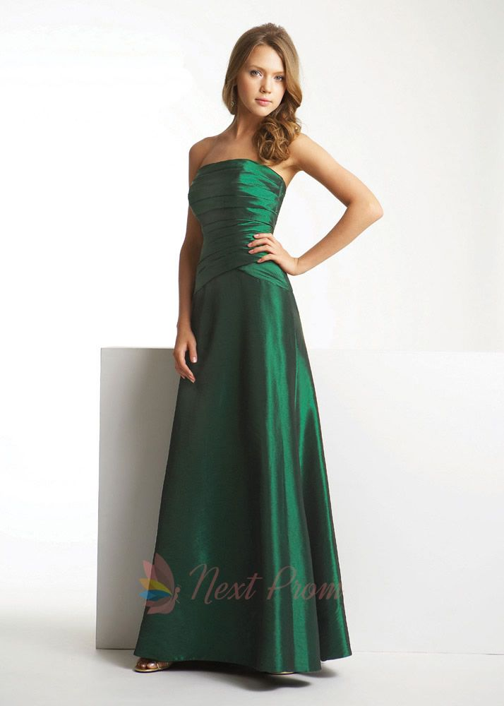 Emerald Green Bridesmaid Dresses 2012, Dark Green Bridesmaid ...
