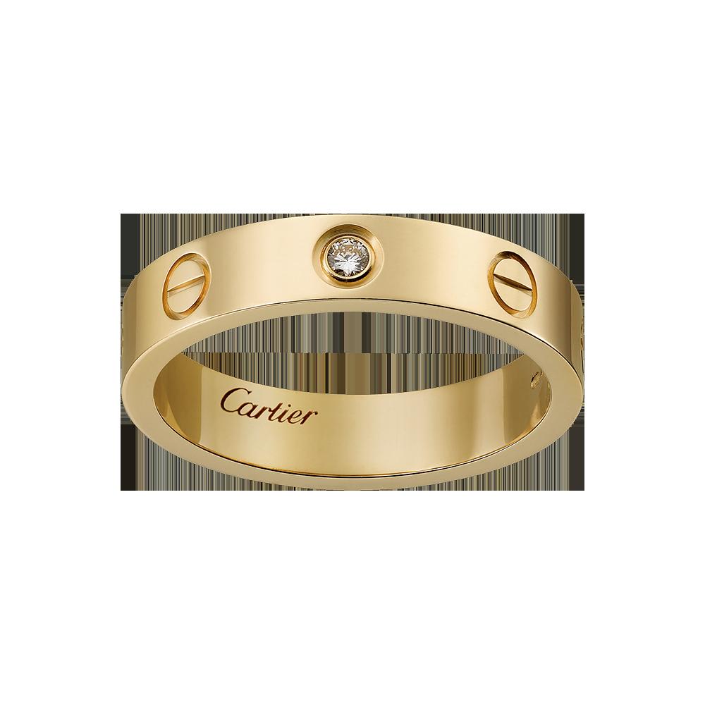 LOVE wedding band. Cartier. 2,110. Cincin