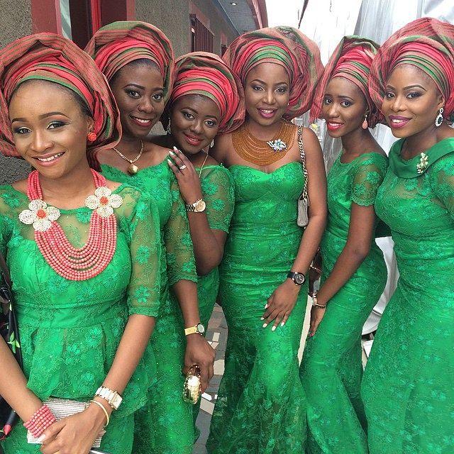 Nigerian Wedding Styles: Nigerian Fashion. Aso Ebi Styles. Nigerian Wedding Guests