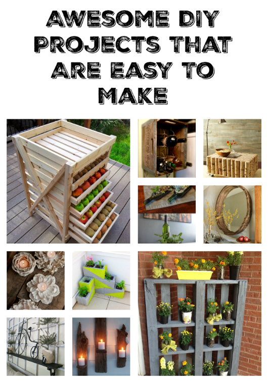 Awesome DIY Projects That You've Never Heard Of is part of Home Accessories Decor DIY Projects - Skip store bought decorations and personalize your space with these Easy DIY Projects that you make yourself