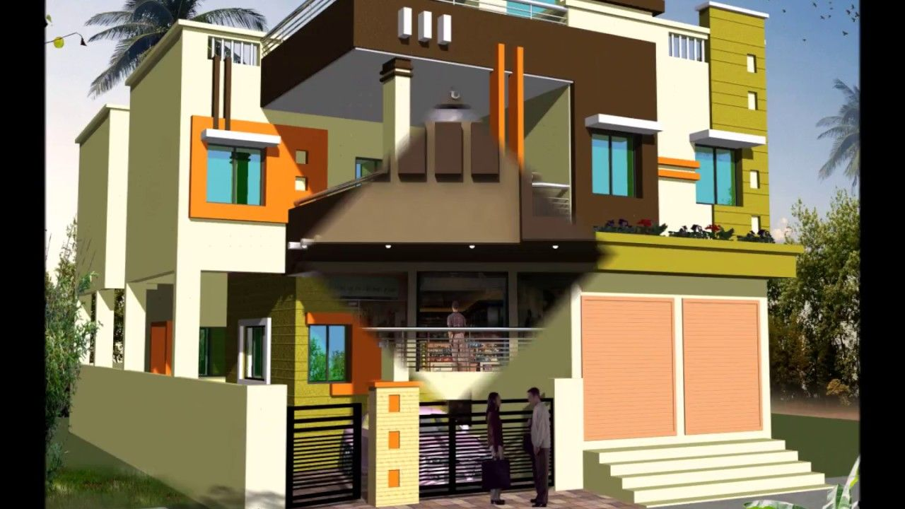 SHOP ATTACHED HOUSE FRONT ELEVATIONS | thiết kế | Pinterest | House ...