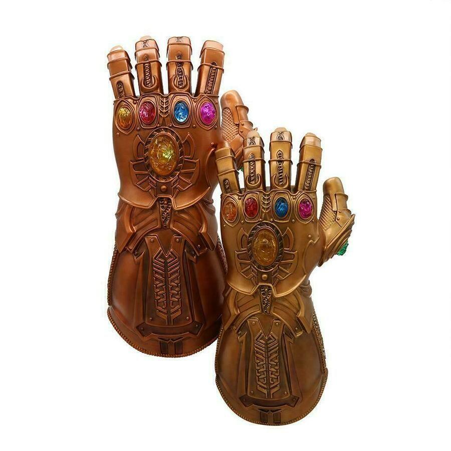 Avengers 3 Infinity War Thanos Infinity Gauntlet LED Glowing Glove Cosplay Prop