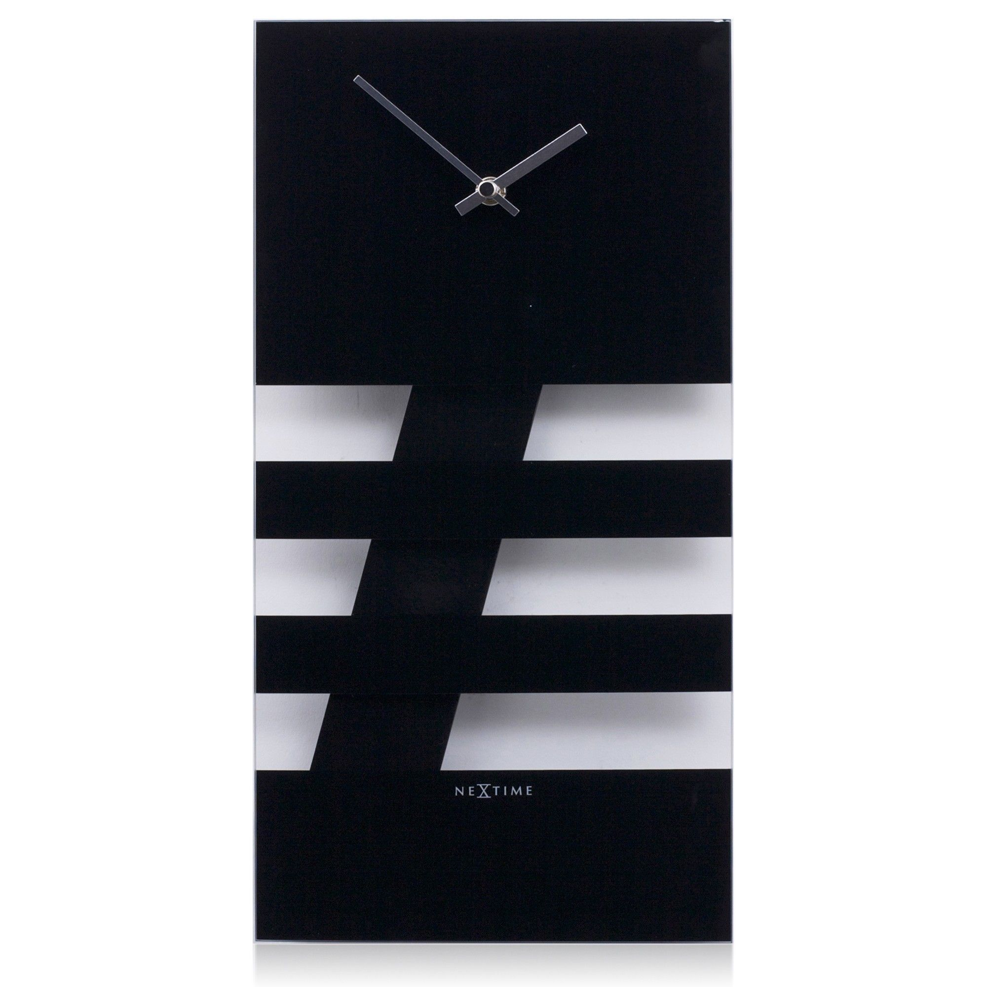 Online Nextime Bold Stripes Wall Clock 2855zw Store India Online