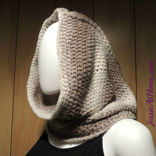 Hoodie-Cowl-free-crochet-pattern-by-Jessie-At-Home-1 | Baby crochet ...