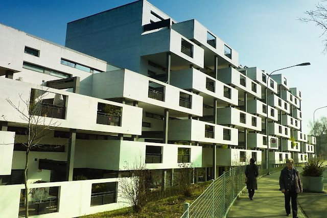 Residential complex in the Paul-Clairmont-Strasse - Zurich