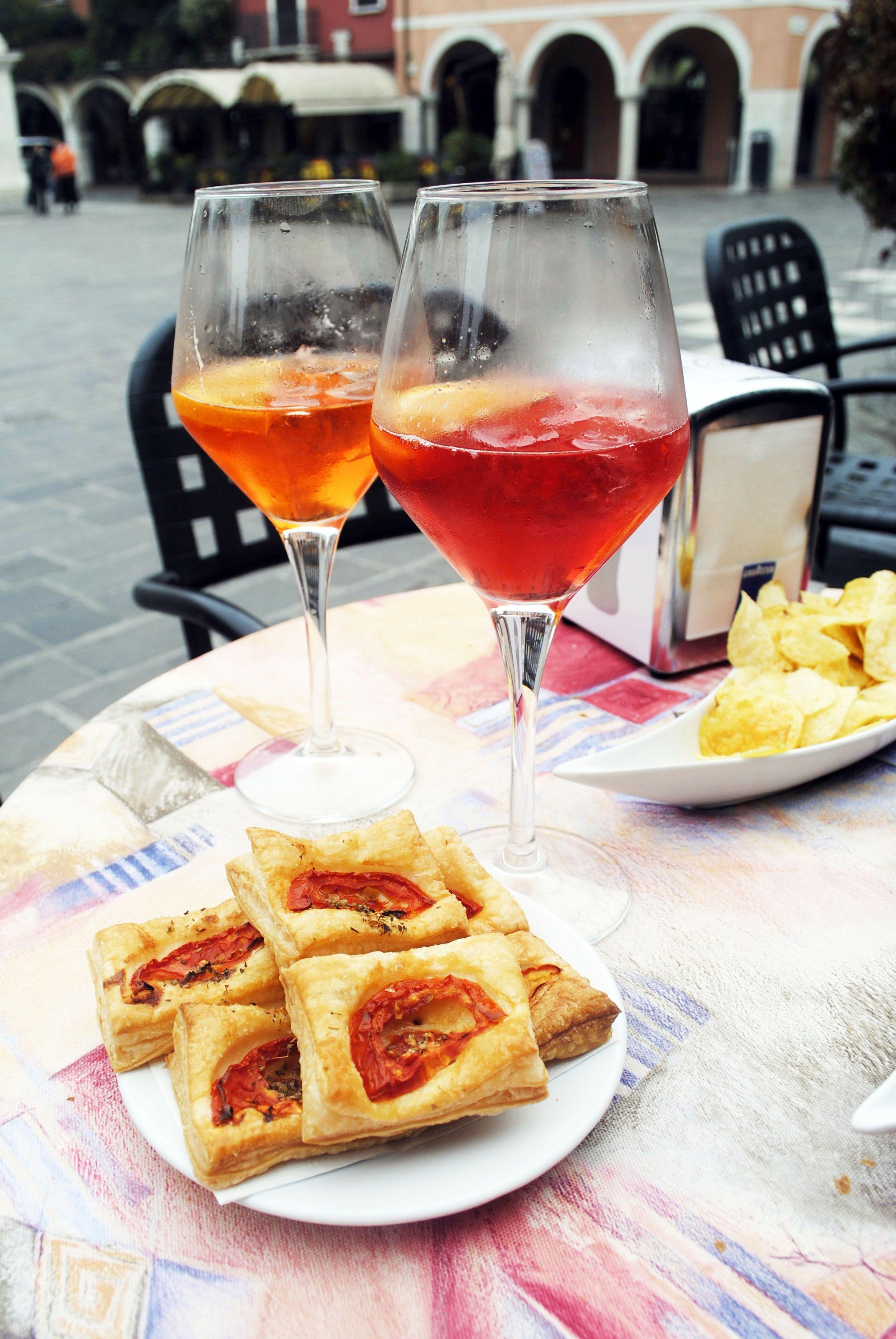 food italian drink campari drinks italy pirlo spritz cafe outdoor ortensiablu