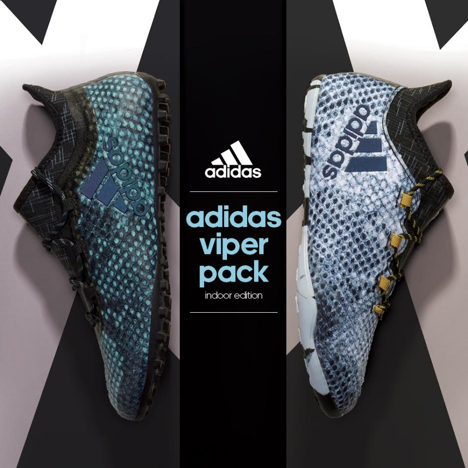 online retailer 3d97a 87f32 Hot at www.soccerpro.com right now! The adidas Viper Pack indoor and turf  shoes.