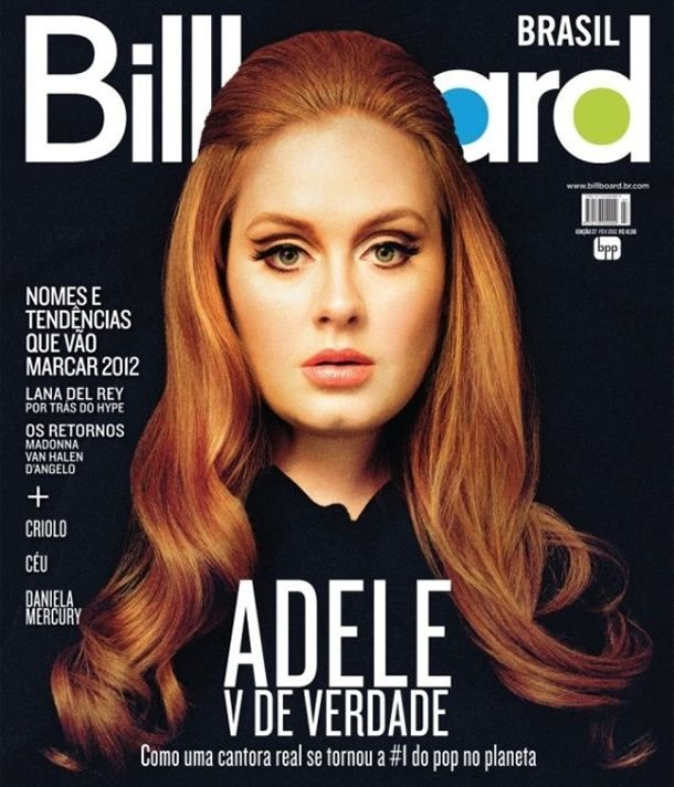 Adele - Billboard Magazine Cover [Brazil] (February 2012)