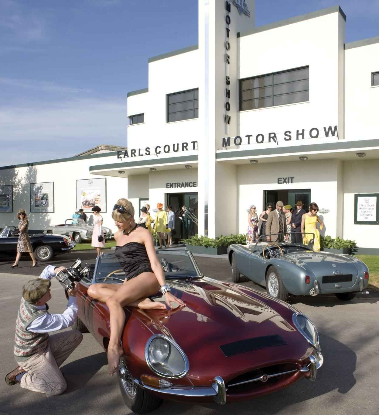 Two Beauties Caught In One Frame The Worlds Most Beautiful Cars To Star Earls Court Motor Show