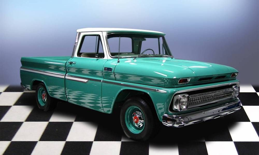 1965 Chevrolet C 10 Shortbed Pickup Truck Pickup Trucks 1966