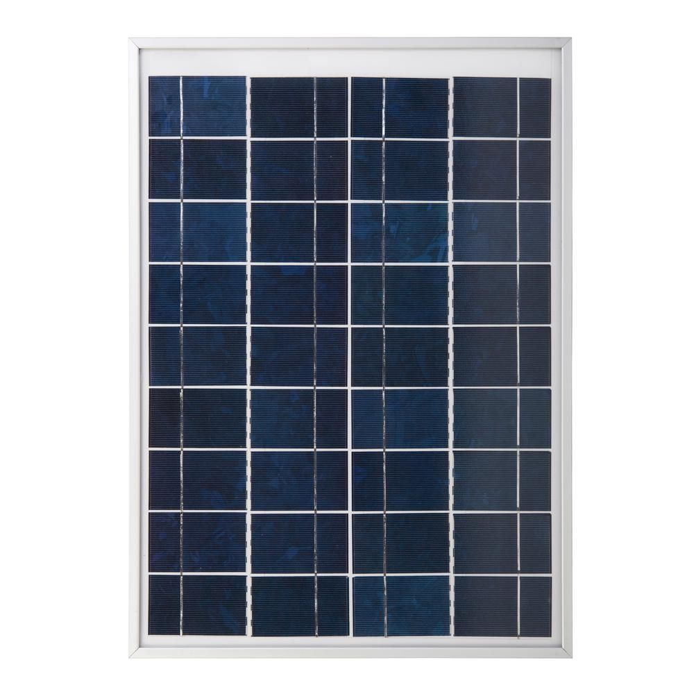 20 Watt 12 Volt Crystalline Solar Panel Solar Panels 12 Volt Solar Panels Portable Solar Panels