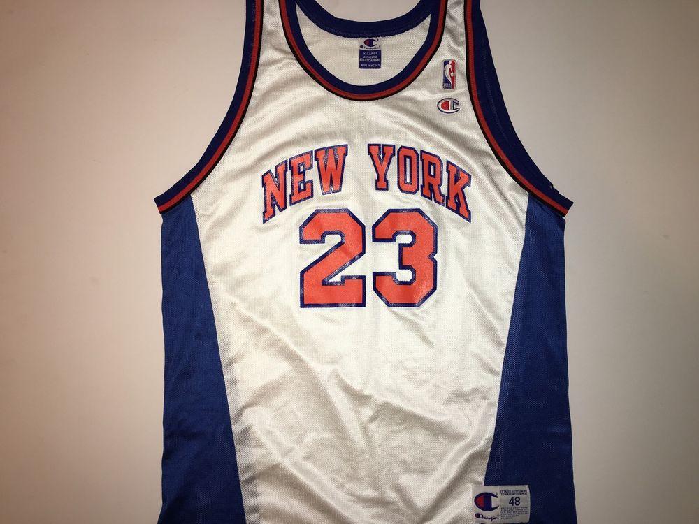 Champion NBA New York Knicks Marcus Camby Jersey eBay