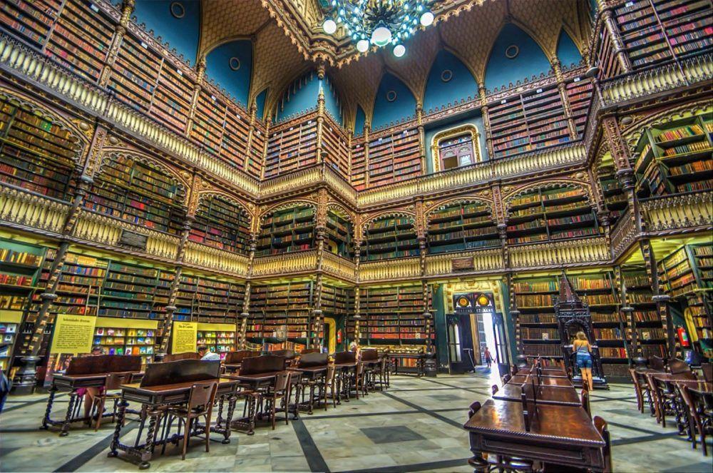 As Bibliotecas Mais Bonitas Do Mundo Portuguesas Rio De Janeiro