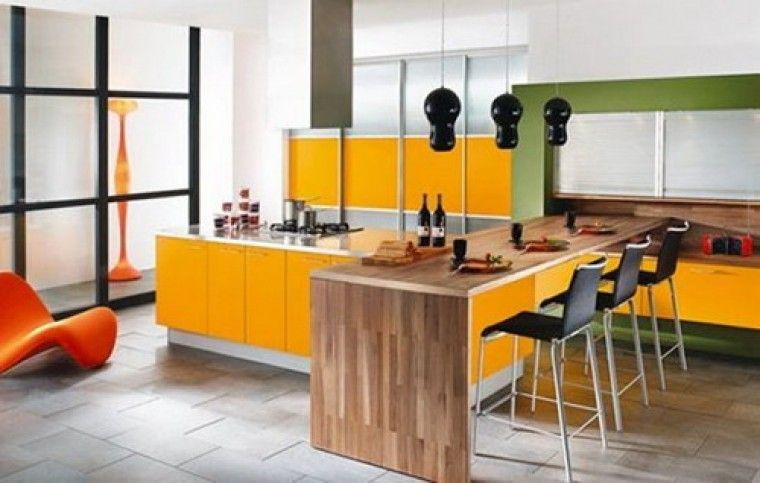 Click Interiores | Cozinhas Coloridas: Modernas Como Antigamente