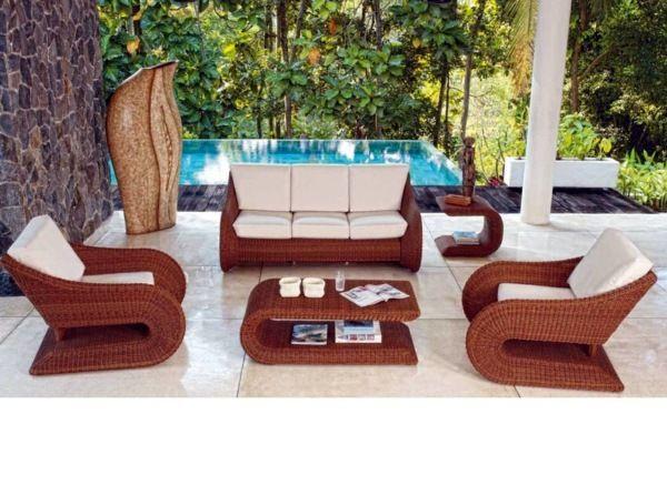 Outdoor Rattan Furniture For Durability In 2020 Rattan Outdoor