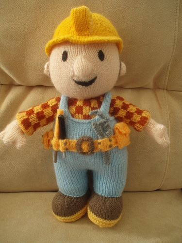 Bob the Builder knitted | Patterns to find | Pinterest | Blusas ...