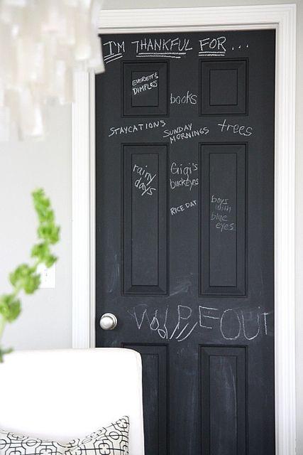 Painting A Chalkboard Door | Chalkboards and Doors