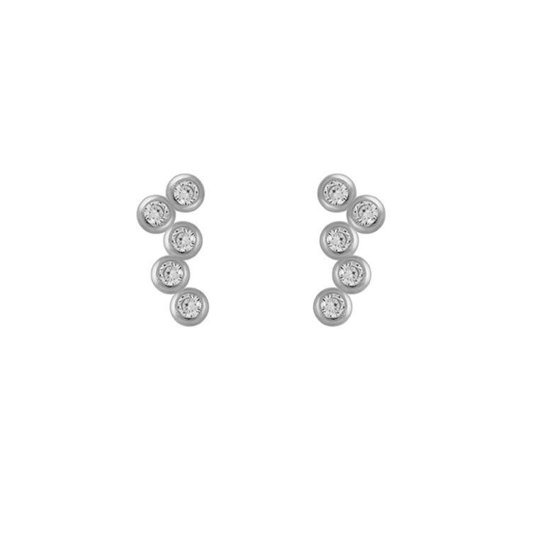 Imaginación Earrings Silver #LuxenterJoyas #LuxenterMakeaWish