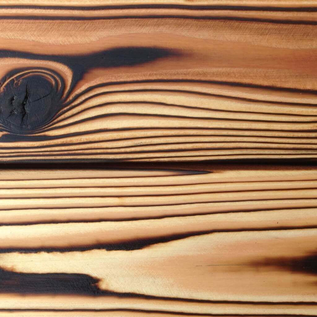 Pika Pika Japanese Burnt Cedar Siding And Flooring For