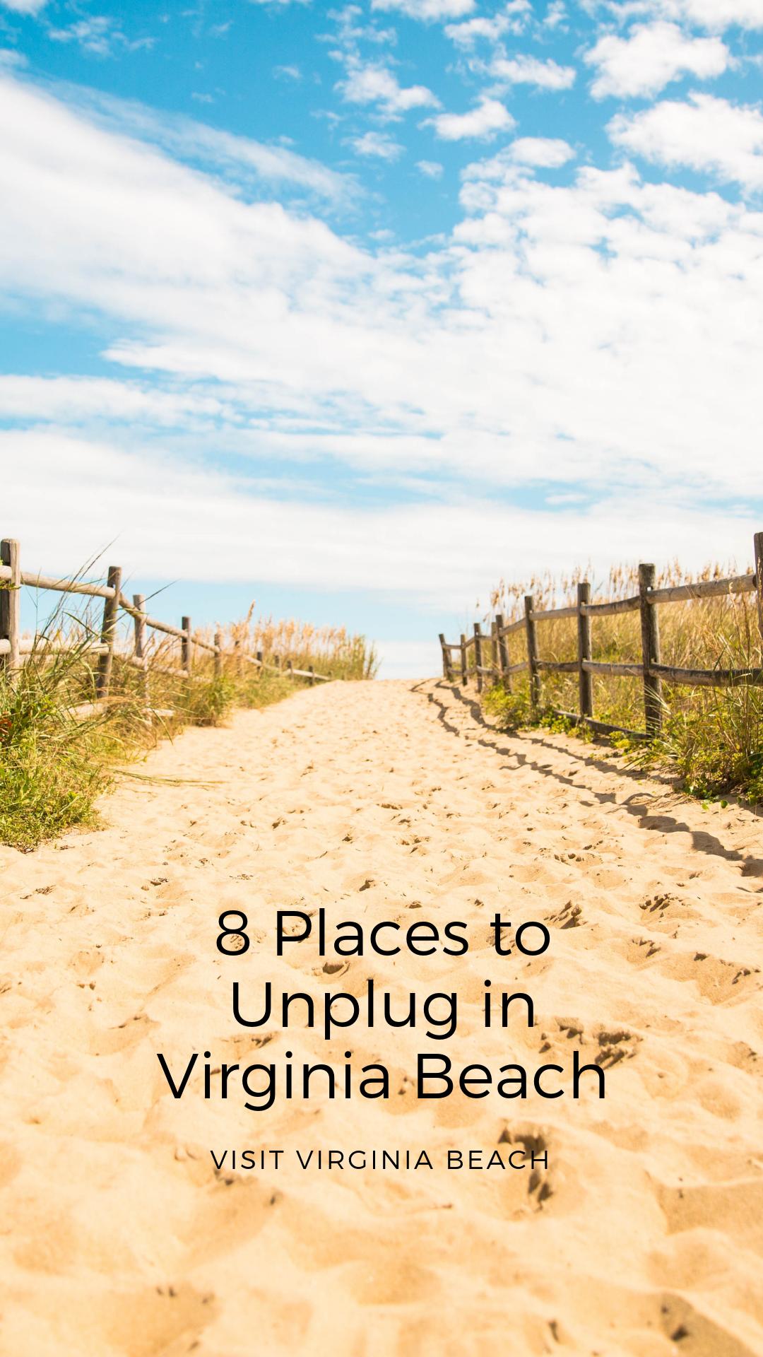 8 Places To Unplug In Virginia Beach Visit Virginia Beach Beach Virginia Beach