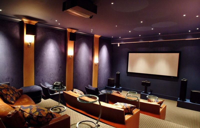 15 Awesome Basement Home Theater Cinema Room Ideas  Basements Beauteous Living Room Home Theater Ideas Inspiration