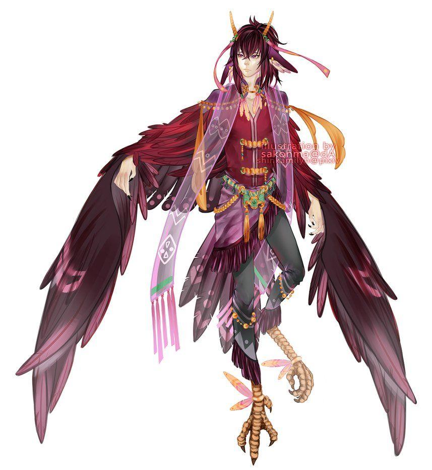 Custom character harpy by sakonma on deviantart art