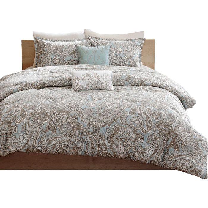 Madison Park Pure Ronan 5 Piece Cotton Comforter Set