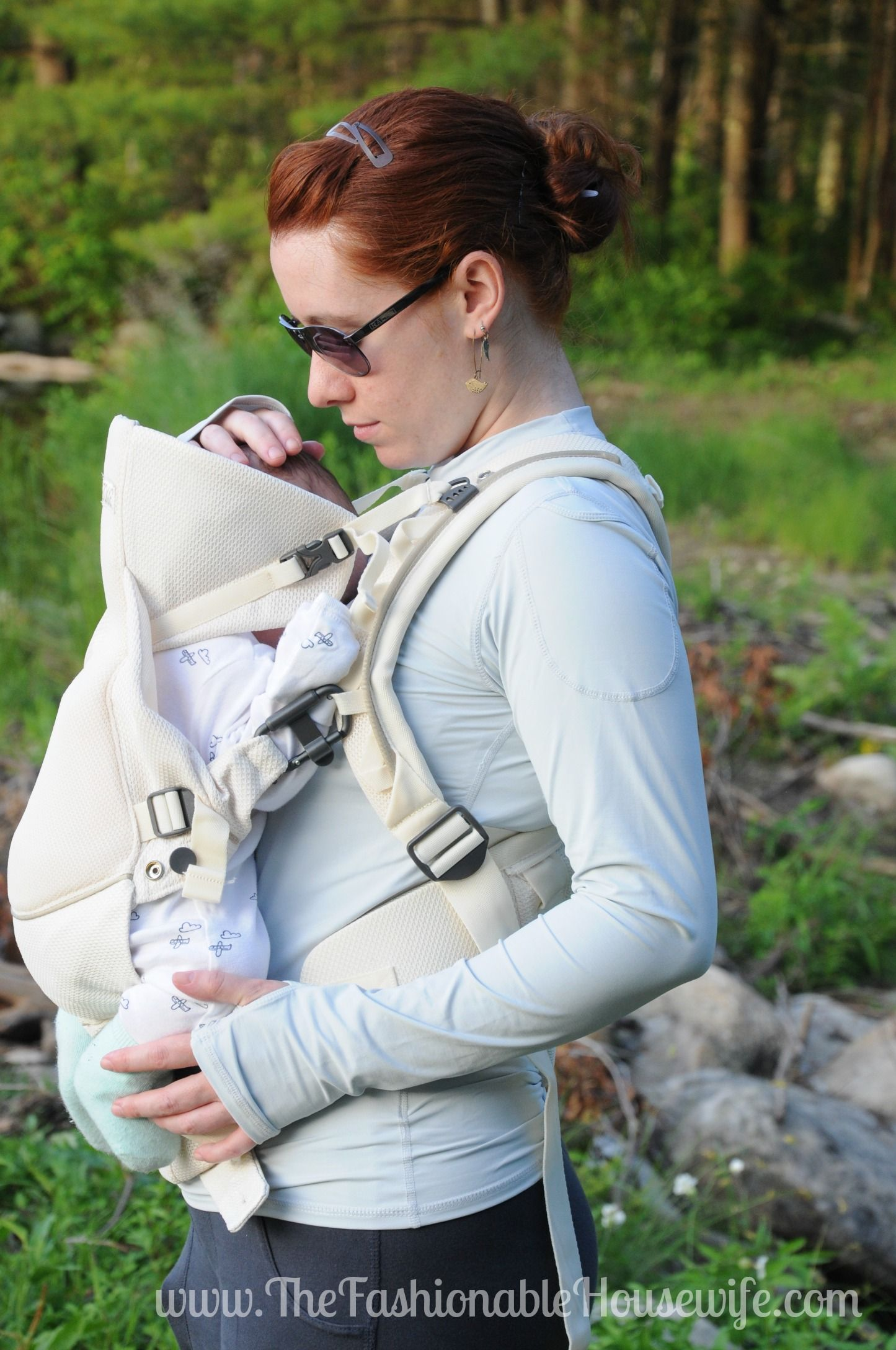 7545fa8c303 Today s Outfit  Stokke MyCarrier Cool Baby Carrier