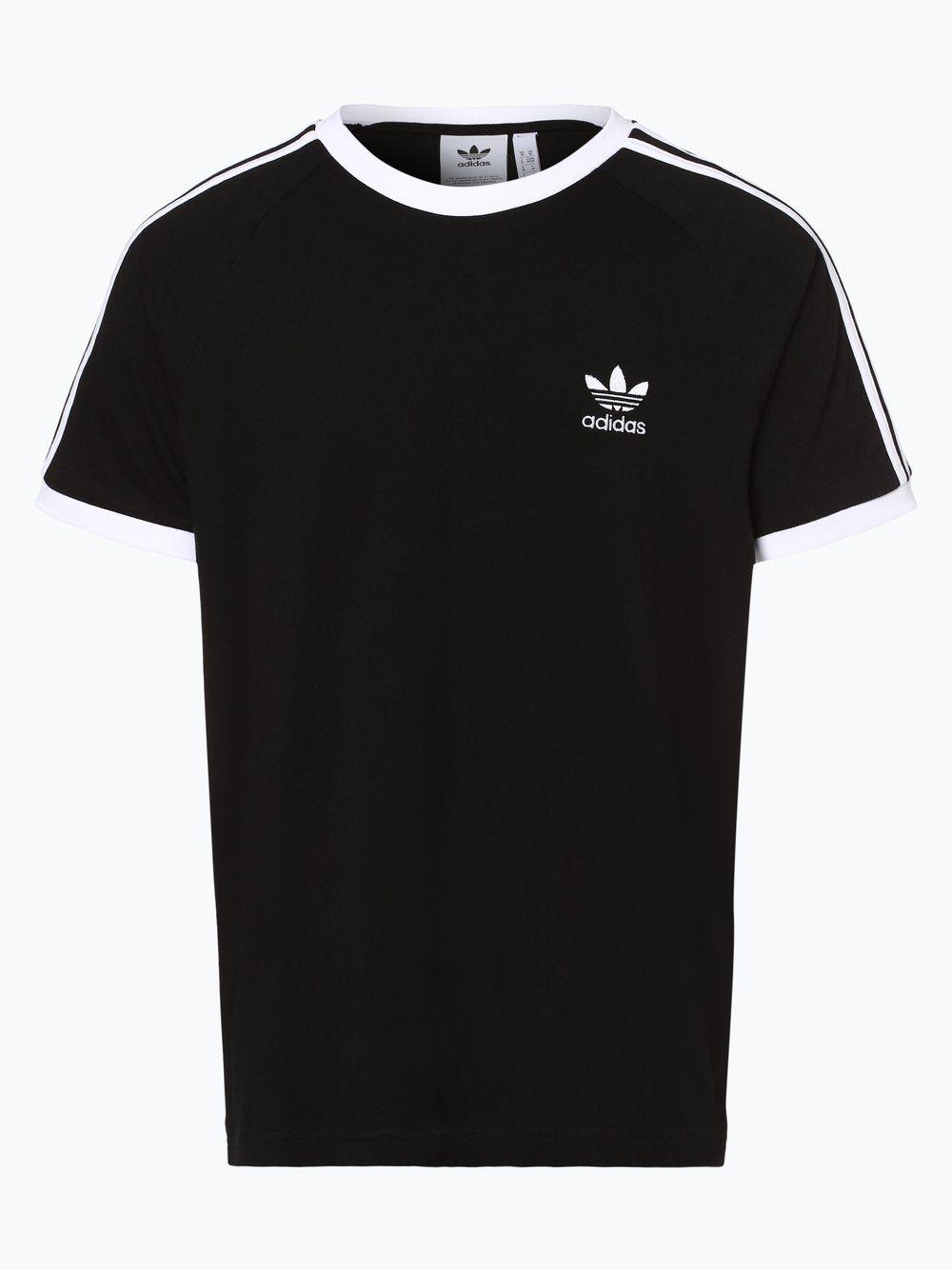 adidas Originals T Shirt schwarz | Adidas originals, Herren