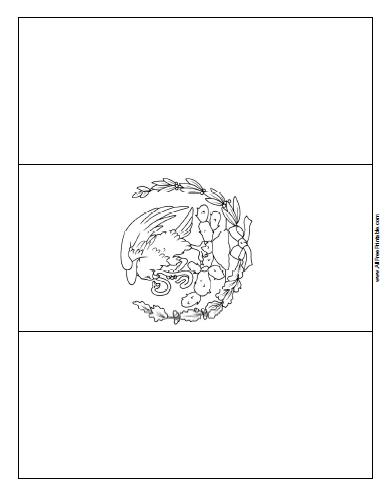 Free Printable Mexico Flag Coloring Page In 2020 Flag Coloring Pages American Flag Coloring Page Flag Printable