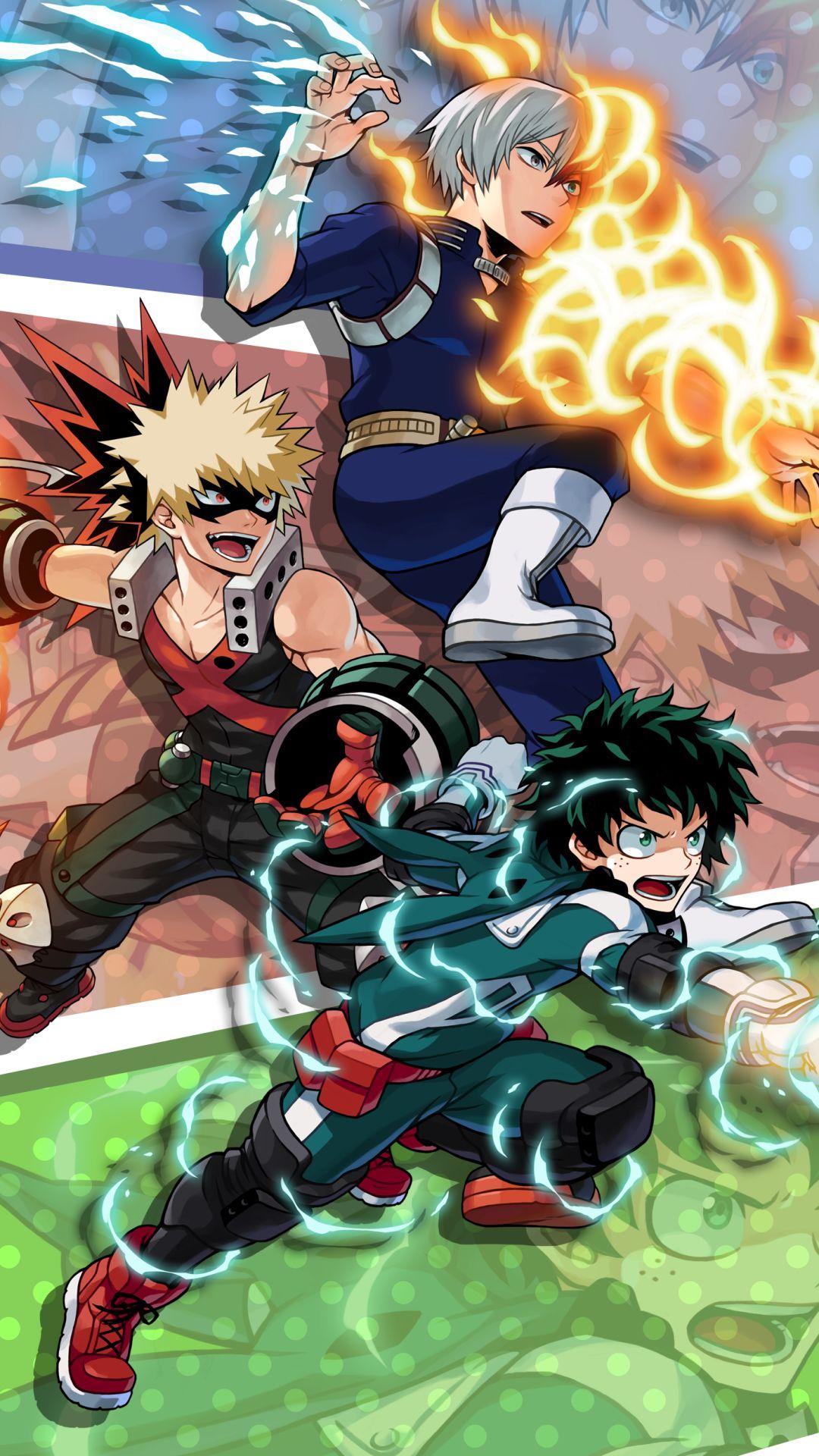Save Follow Midoriya Izuku Deku Bakugou Katsuki Shouto Todoroki Shoto My Hero Academia Boku No Hero Ac My Hero Academia Episodes Hero My Hero