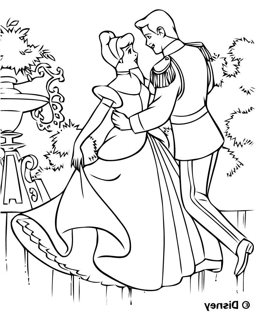 Coloriage Princesse Disney A Imprimer