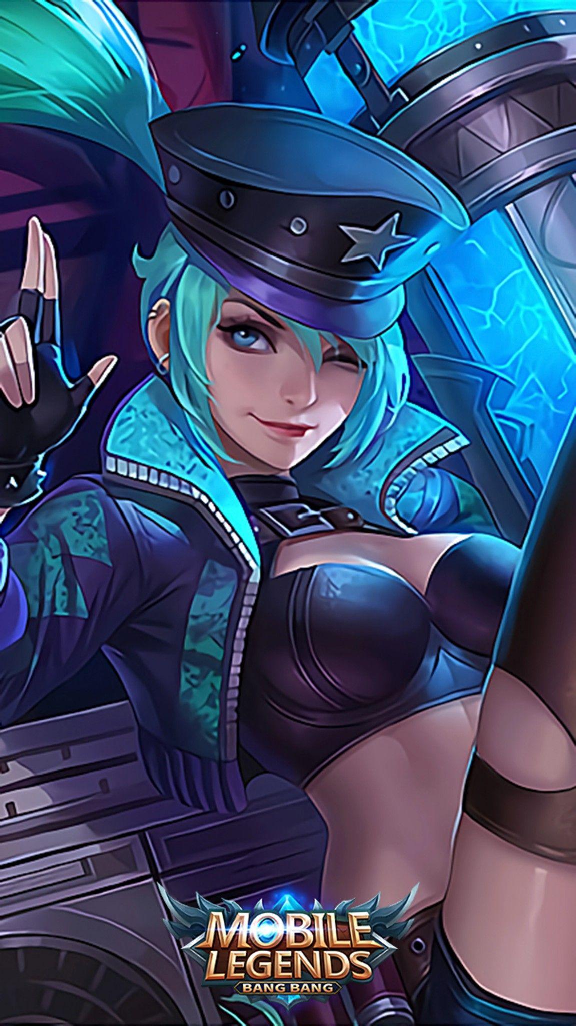 Layla Revamped Green Flash Mobile Legends Miya Mobile Legends Mobile Legend Wallpaper