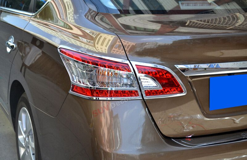 For Nissan Sentra Sylphy 2012 - 2016 Glossy ABS Chrome