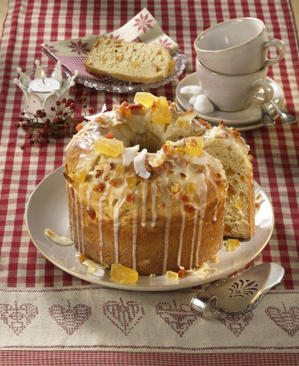 Unser beliebtes Rezept für Früchtekuchen Typ Panettone und mehr als 55.000 weitere kostenlose Rezepte auf LECKER.de.