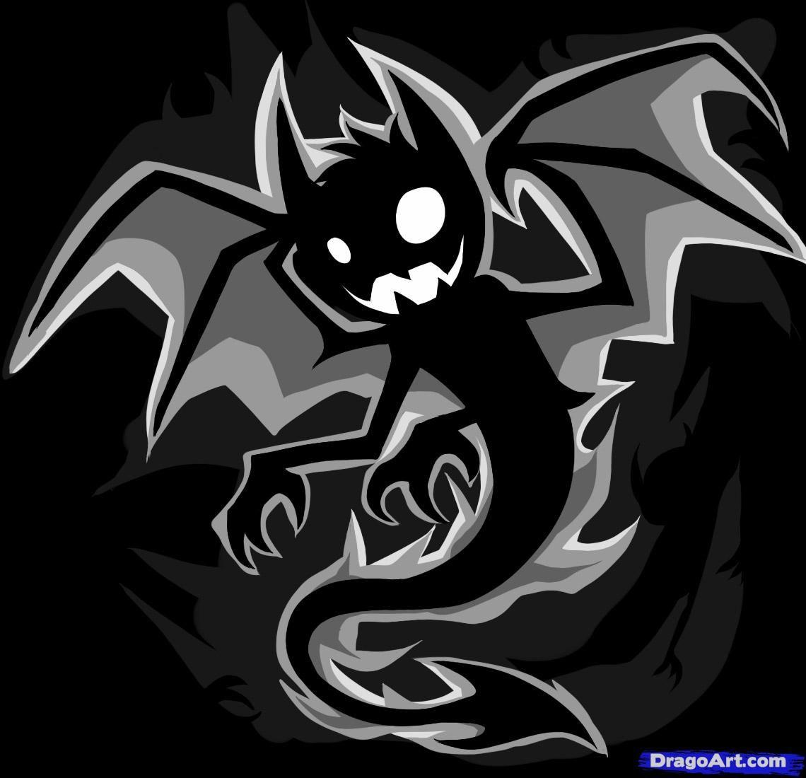 How To Draw An Anime Demon By Dawn Evil Anime Anime Demon