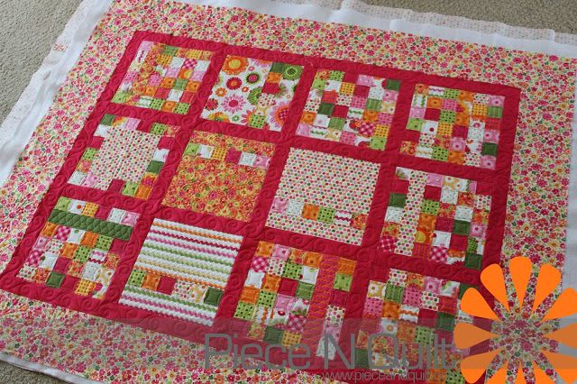 Piece N Quilt Coordinating Little Girl Quilts Quilting