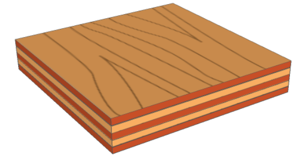Plywood Is A Composite Material Although We Often Consider It As A Traditional Working Material It Is Composed Of Individual Plies Wood Wood Design Plywood