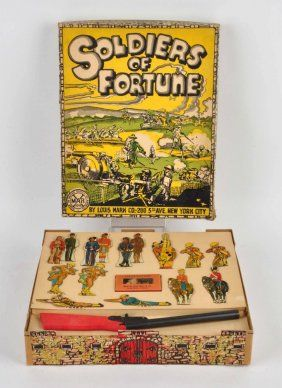 """In 1955, Time magazine declared Louis Marx the """"Toy King"""" of the United States."""