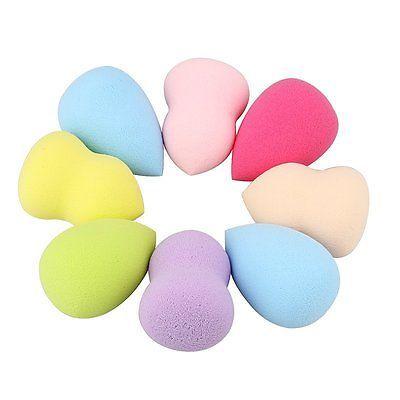 4pcs Makeup Foundation Sponge Blender Puff Flawless Powder Smooth Beauty