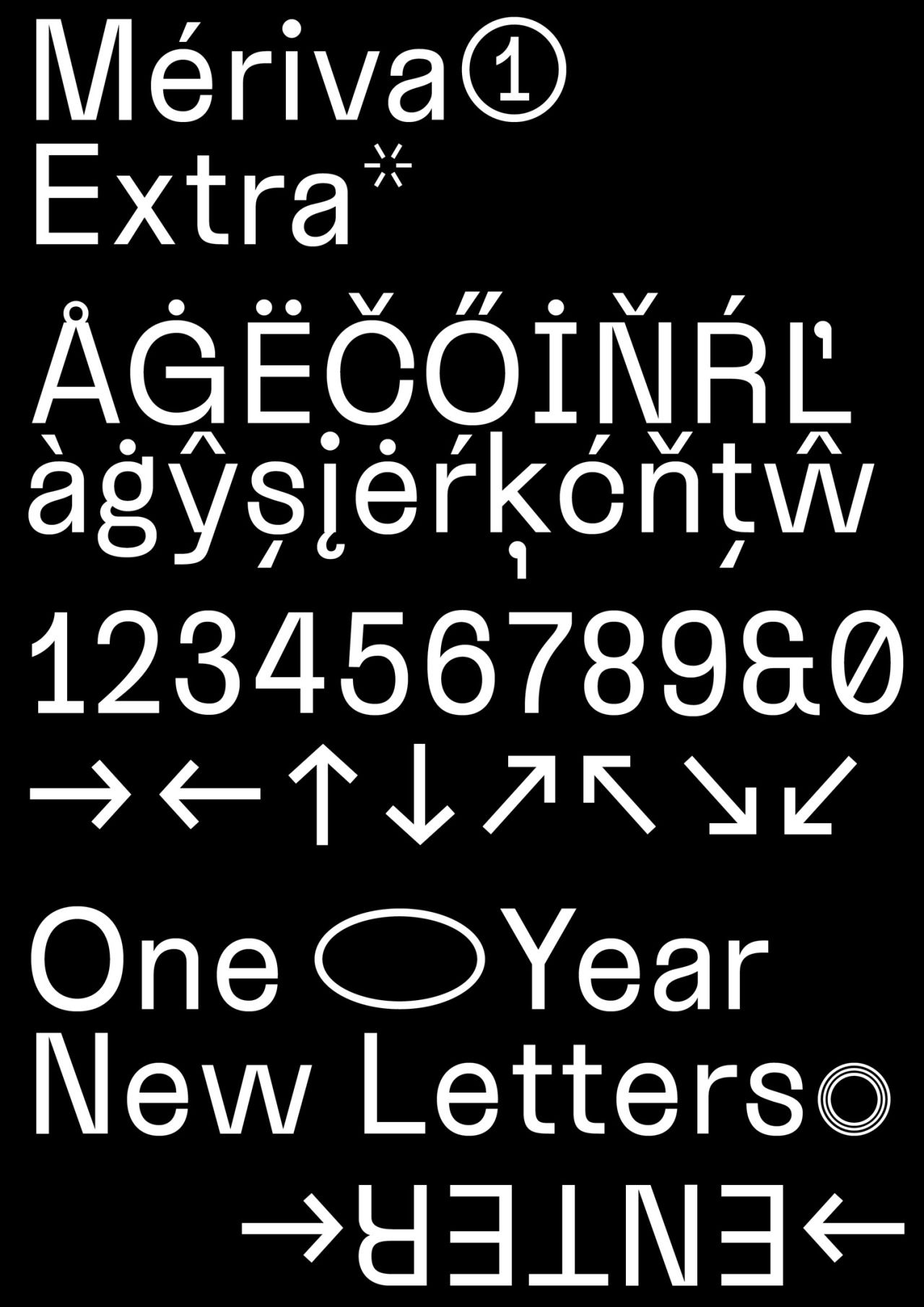NewLetters One Year New Letters Thank You Very Much For Your