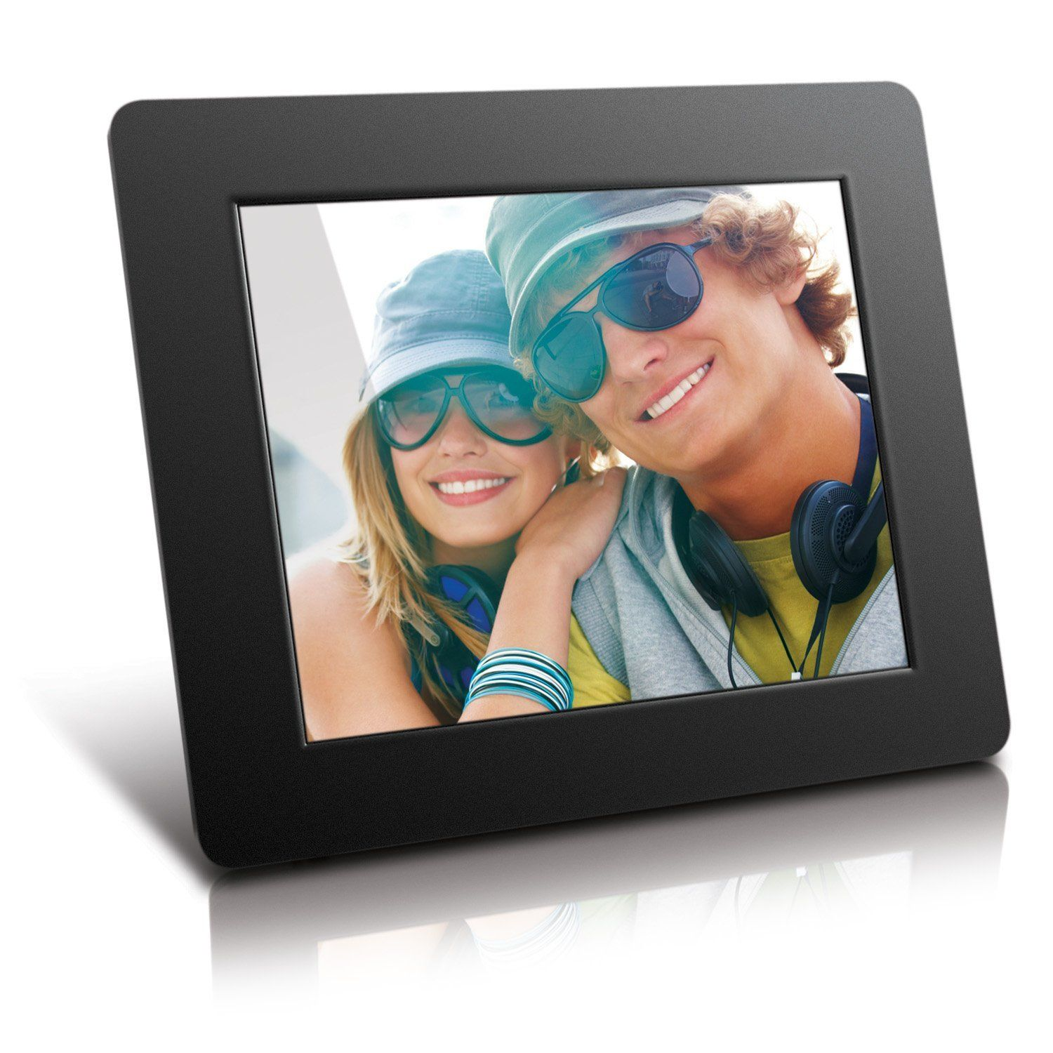 sony dpf d70 7 inch digital photo frame a 7 inch digital photo frame with 800x480 resolution 159 aspect ratio lcd screen 256mb of internal mem - Moving Picture Frame