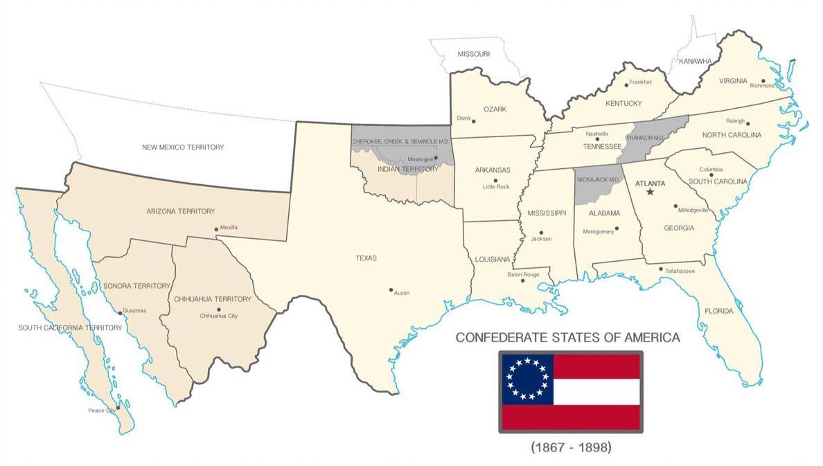 confederates vs union